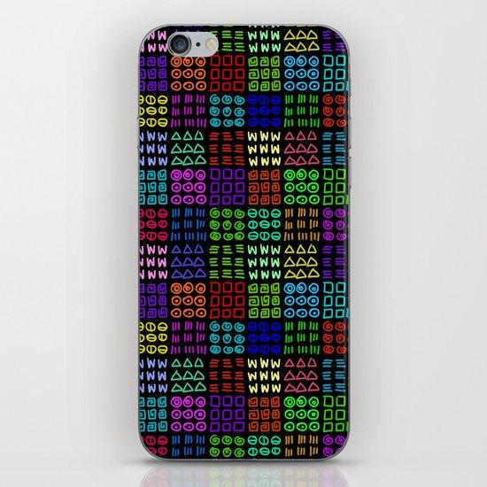 Aztec Wannabe (Black) iPhone & iPod Skin