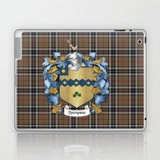 Thompson Crest and Tartan Laptop & iPad Skin