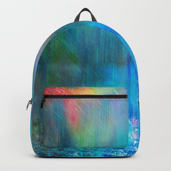 Rain Curtain Backpack