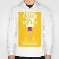 eternal sunshine of the spotless mind Hoodies featuring Eternal Sunshine Of The Spotless Mind Movie Poster by FunnyFaceArt