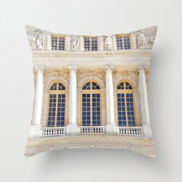 Afternoons at Versailles Throw Pillow