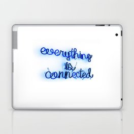 Everything is Connected Laptop & iPad Skin