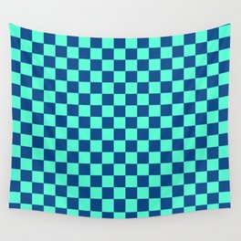 Checkered Pattern VI Wall Tapestry