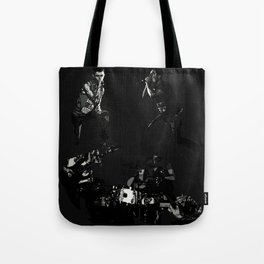 Shelter The Weak Band Tote Bag