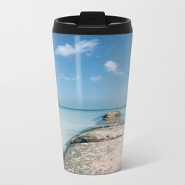 Caribbean Paradise Metal Travel Mug
