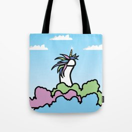 Adventures of Steve the Unihorny! Tote Bag