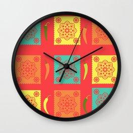 Chili Mexico Wall Clock