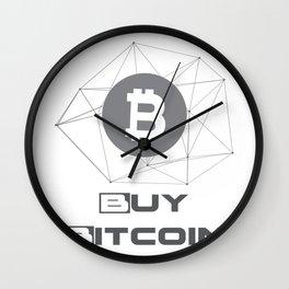 Buy Bitcoin Funny Wall Clock