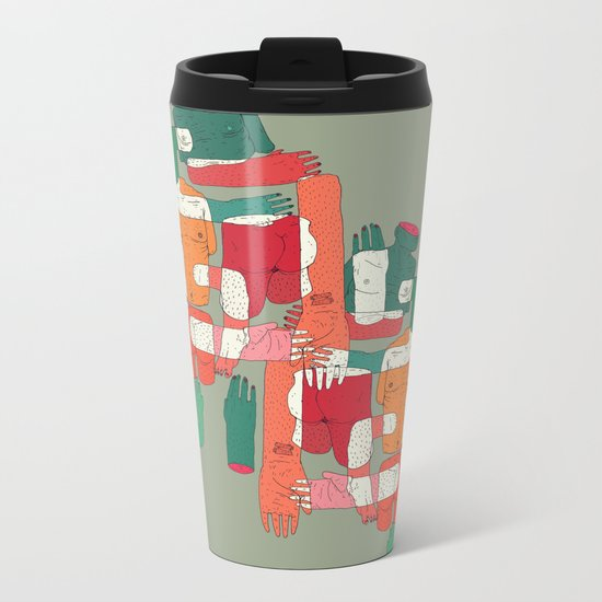 body interaction Metal Travel Mug