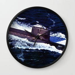 USS GEORGE WASHINGTON (SSBN-598) Wall Clock