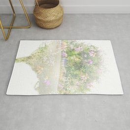 Where the sea sings to the trees - 12 Rug