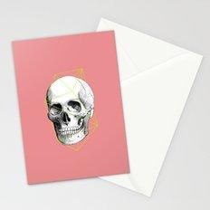 Geometric Skull Stationery Cards
