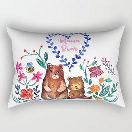 Mother's Day Mama Beare Rectangular Pillow