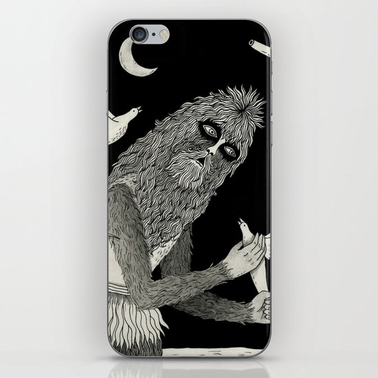 Thievery in the Woods iPhone & iPod Skin