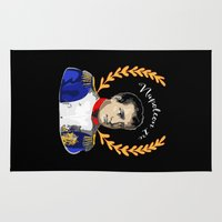 napoleon Area & Throw Rugs featuring Napoleon 1er by Antique Images