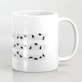 Cat Music Coffee Mug