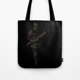 Soldier from the jungle Tote Bag