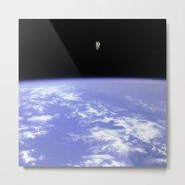 """""""Space Walk"""" Metal Print"""