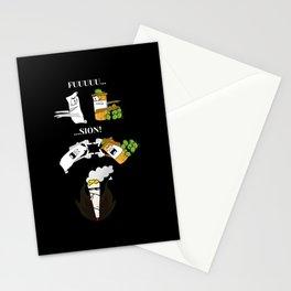 Slim Paper und Cannabis Fusion Stationery Cards