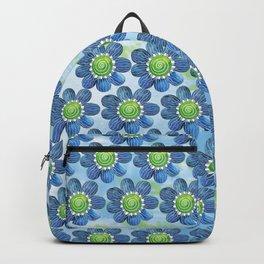 Blue Whimsy Backpack