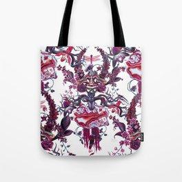 Merlot (dense pattern) Tote Bag
