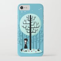 snow white iPhone & iPod Cases featuring Snow White by Freeminds