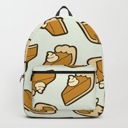 Pumpkin Pie Pattern Backpack