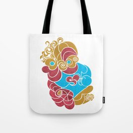 First depiction of him Tote Bag