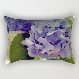 Hydrangea Bouquet Rectangular Pillow