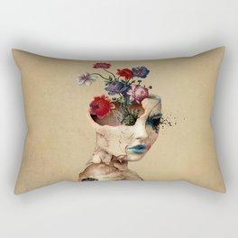 Broken Beauty Rectangular Pillow