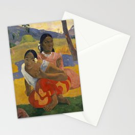 Paul Gauguin - When Will You Marry? Stationery Cards