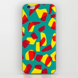 happy shapes iPhone Skin