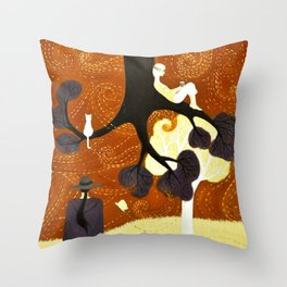 Transformations Throw Pillow