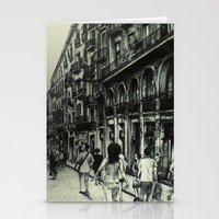 barcelona Stationery Cards featuring Barcelona by Lamb