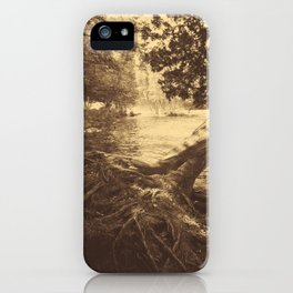 Mist on the River iPhone Case