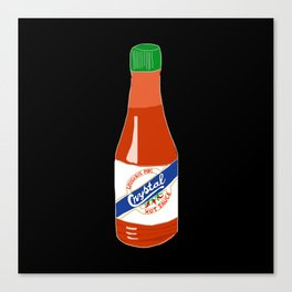 Crystal Hot Sauce Canvas Print