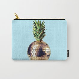 Ananas party (pineapple) blue version Carry-All Pouch