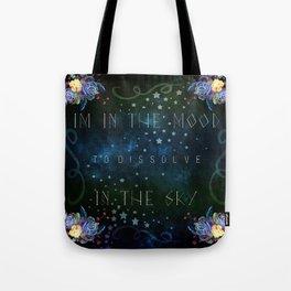 Dissolve in the sky Tote Bag