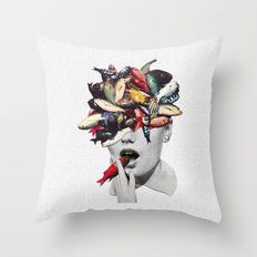 Ωmega-3 Throw Pillow
