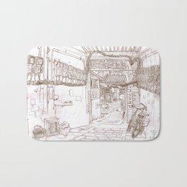 Beijing.China.Donglangxia Hutong东廊下胡同 Bath Mat