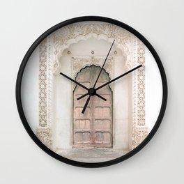 Jodhpur Doorway Wall Clock