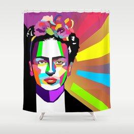 frida wpap Shower Curtain