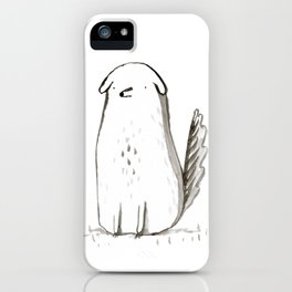 Sitting Dog iPhone Case