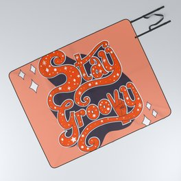 Stay Groovy Picnic Blanket