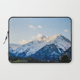 The Glowing Alps Laptop Sleeve