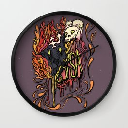 Someone's In The Wolf Wall Clock