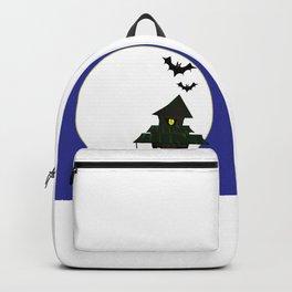 Halloween Cottoge Backpack