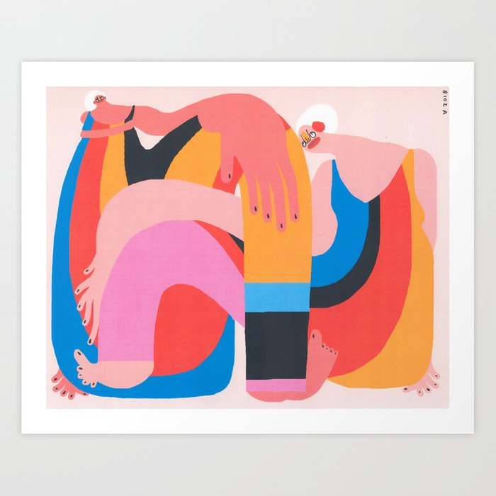 There's Only Room for One Art Print