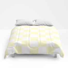 Checker (Cream/White) Comforters