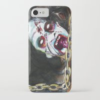 evil dead iPhone & iPod Cases featuring The Evil Dead  by Christopher Chouinard